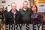 The Kifenora Ceili band drew a large crowd to Kenmare on Sunday afternoon for an afternoon of set-dancing. .L-R Jerry O'Brien, William and Eileen Reilly.
