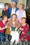 Kay Fleming, Sheila McCarron, Marie Hegarty, Alice Fitzgerald, Louis McCarron and Mary Hegarty, Killanrney, ahead of the Kerry MS pilgrimage to Lourdes on Saturday night.   Copyright Kerry's Eye 2008