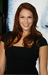"WESTWOOD, CA. - September 09: Amanda Righetti arrives at the Los Angeles premiere of ""Whiteout"" at the Mann Village Theatre on September 9, 2009 in Westwood, Los Angeles, California."