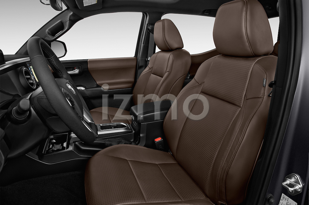 Front seat view of 2016 Toyota Tacoma Limited 4 Door Pickup Front Seat car photos