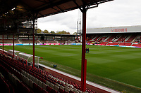 A general view of the stadium during the Sky Bet Championship match between Brentford and Leeds United at Griffin Park, London, England on 4 November 2017. Photo by Carlton Myrie.