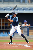 Charlotte Stone Crabs third baseman Richie Shaffer (28) during a game against the Daytona Cubs on July 19, 2013 at Charlotte Sports Park in Port Charlotte, Florida.  The game was called in the seventh inning tied at zero due to rain.  (Mike Janes/Four Seam Images)