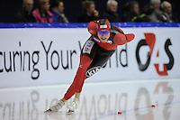 SCHAATSEN: HEERENVEEN: Thialf, Essent ISU World Cup, 02-03-2012, 1500m, Moritz Geisreiter (GER), ©foto: Martin de Jong
