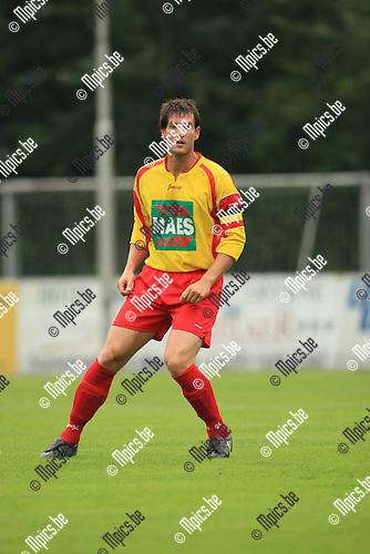 2010-08-07 / Voetbal / seizoen 2010-2011 / KSV Bornem / Wouter Koppen..Foto: mpics