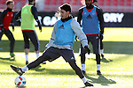 09 December 2016: Toronto's Marco Delgado. Toronto FC held a training session one day before playing in MLS Cup 2016 at BMO Field in Toronto, Ontario in Canada.