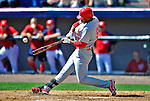 12 March 2012: St. Louis Cardinals outfielder Oscar Taveras in action during a Spring Training game against the Washington Nationals at Space Coast Stadium in Viera, Florida. The Nationals defeated the Cardinals 8-4 in Grapefruit League play. Mandatory Credit: Ed Wolfstein Photo