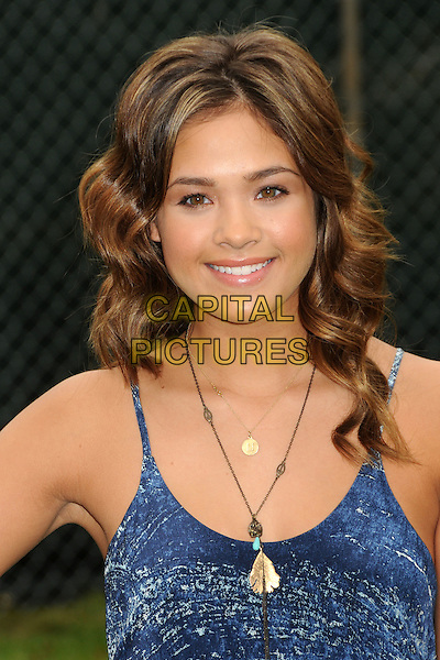 """Nicole Anderson.22nd Annual """"Time For Heroes"""" Celebrity Picnic Benefiting The Elizabeth Glaser Pediatric AIDS Foundation held at the Wadsworth Fairgrounds, Westwood, California, USA..June 12th, 2011.headshot portrait blue necklace .CAP/ADM/BP.©Byron Purvis/AdMedia/Capital Pictures."""