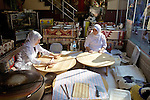 Women Making Turkish Flatbread