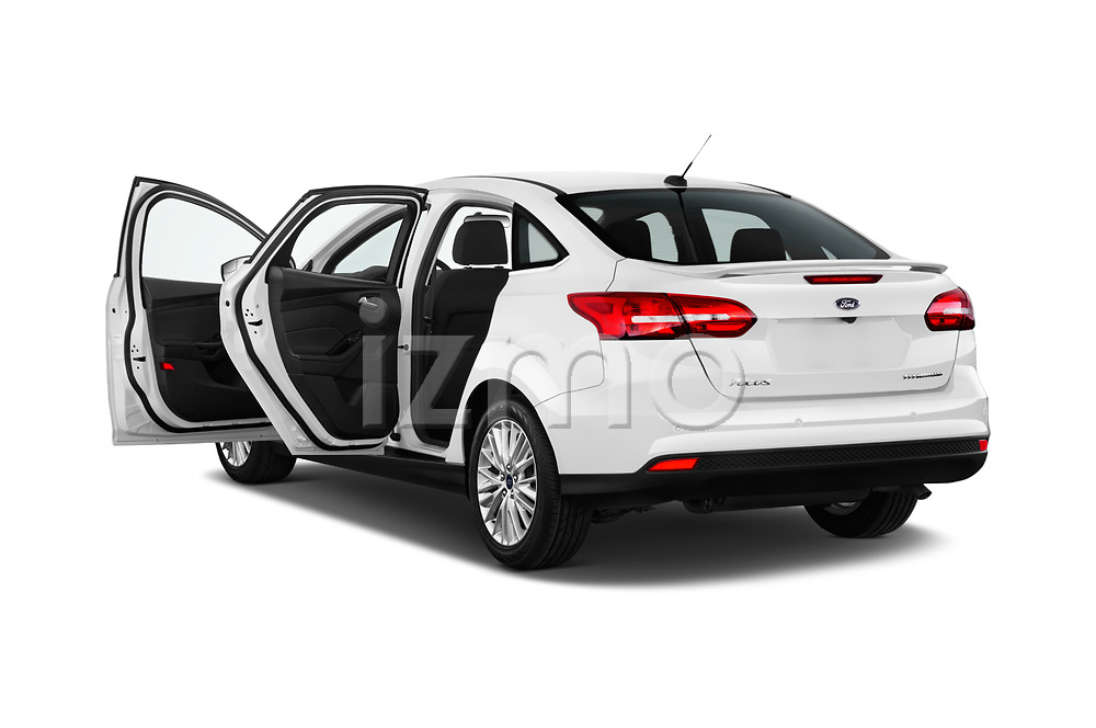 Car images of 2015 Ford Focus Titanium 4 Door Sedan Doors