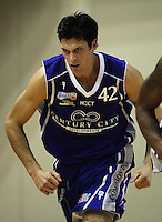 Saints forward Arthur Trousdell during the National Basketball League match Wellington Saints and Harbour Heat at TSB Bank Arena, Wellington, New Zealand on Saturday 13 June 2009. Photo: Dave Lintott / lintottphoto.co.nz