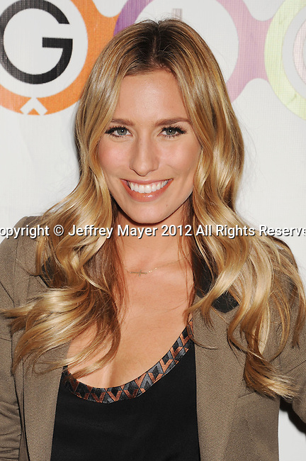 WEST HOLLYWOOD, CA - NOVEMBER 14: Renee Bargh attends the opening of Kimberly Snyder's Glow Bio Juice Bar at Glow Bio on November 14, 2012 in West Hollywood, California.