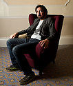 Sitting Room Comedy, Harrogate, UK, 12.10.11. Picture shows: Stephen Carlin.