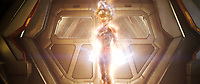 Brie Larson.<br /> Captain Marvel (2019) <br /> *Filmstill - Editorial Use Only*<br /> CAP/RFS<br /> Image supplied by Capital Pictures