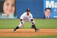 Staten Island Yankees infielder Matt Duran (20) during game against the Hudson Valley Renegades at Richmond County Bank Ballpark at St.George on June 24, 2012 in Staten Island, NY.  Staten Island defeated Hudson Valley 9-1.  Tomasso DeRosa/Four Seam Images