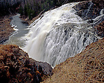 High Falls of the Magpie River, Ontario, Canada, September, 1990