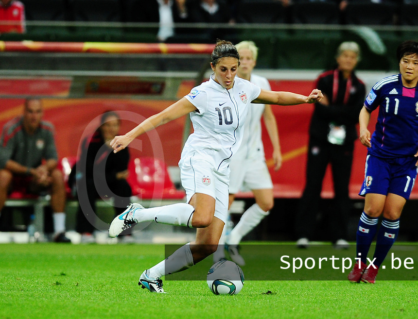 Fifa Women's World Cup Germany 2011 : Japan - USA  at Commerzbank Arena Frankfurt : Homare Sawa.foto DAVID CATRY / Vrouwenteam.be