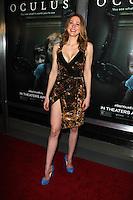 "Maitland Ward<br /> at the ""Oculus"" Los Angeles Screening, TCL Chinese 6, Hollywood, CA 04-03-14<br /> David Edwards/DailyCeleb.com 818-249-4998"
