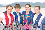 Caoimhe Purcell, Cieran O'Sullivan, Tara Lynch and Michelle Moriarty Killorglin at the Cromane regatta on Saturday