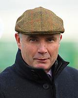 Trainer Chris Gordon during Horse Racing at Wincanton Racecourse on 5th December 2019