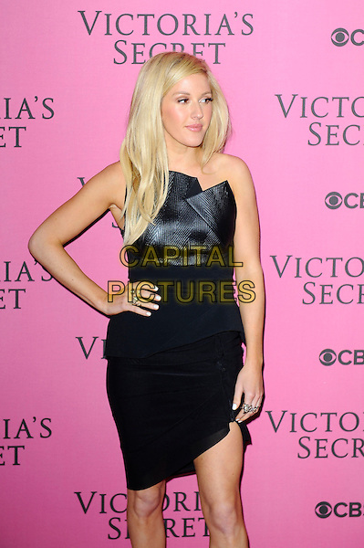 LONDON, ENGLAND - DECEMBER 2: Ellie Goulding attends the pink carpet for Victoria's Secret Fashion Show 2014, Earls Court on December 2, 2014 in London, England.<br /> CAP/MAR<br /> &copy; Martin Harris/Capital Pictures