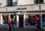 Jaeger clothes shop in Bury St Edmunds, Suffolk, England, UK