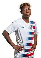 Sarasota, FL - Friday, April 26, 2019:  Headshot of Kobe Hernandez.