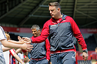 Goalkeeping coach for Swansea Tony Roberts during the Premier League match between Swansea City and Stoke City at The Liberty Stadium, Swansea, Wales, UK. Sunday 13 May 2018