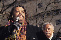 Al Sharpton and David Dinkins