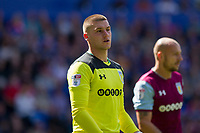 Sam Johnstone of Aston Villa during the Sky Bet Championship match between Cardiff City and Aston Villa at the Cardiff City Stadium, Cardiff, Wales on 12 August 2017. Photo by Mark  Hawkins / PRiME Media Images.