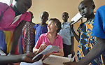 Sister Rosemary Gallagher teaches in the Loreto Primary School in Rumbek, South Sudan. The Loreto Sisters began a secondary school for girls in 2008, with students from throughout the country, but soon after added a primary in response to local community demands. Gallagher is a native of Northern Ireland.
