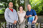 Gareth Harteveld (Youth worker), Rose O'Shea (asst youth worker), Ger Lowe (community drugs worker).