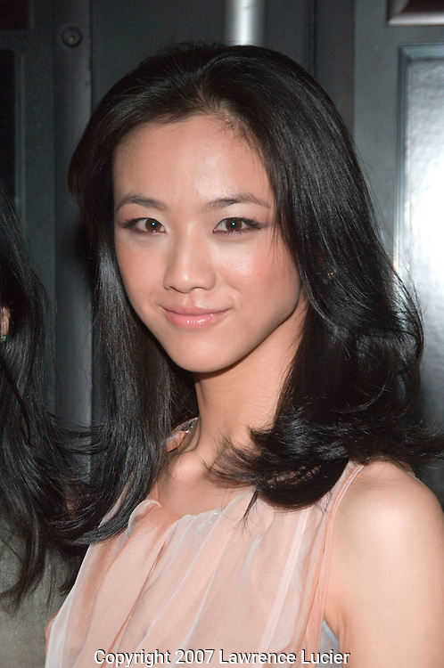 "Actress Tang Wei arrives at a special screening of ""LUST, CAUTION"" September 27, 2007, at the Landmark Sunshine Cinema in New York City.. (Pictured : Tang Wei)."