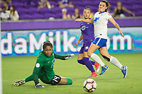 Orlando, FL - Saturday June 03, 2017:  Camila during a regular season National Women's Soccer League (NWSL) match between the Orlando Pride and the Boston Breakers at Orlando City Stadium.