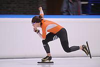 SCHAATSEN: LEEUWARDEN: 09-10-2015, Elfstedenhal, Training topsport, Ireen Wüst, ©foto Martin de Jong