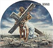 Dona Gelsinger, EASTER RELIGIOUS, paintings(USGE8902,#ER#) Ostern, religiös, Pascua, relgioso, illustrations, pinturas