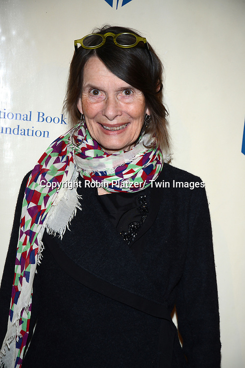 Susan Shreve attends the 2013 National Book Awards Dinner and Ceremony on November 20, 2013 at Cipriani Wall Street in New York City.