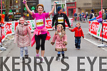 Brenda O'Connell, 1390 and Billy Kissane, 1267  who took part in the 2015 Kerry's Eye Tralee International Marathon Tralee on Sunday.