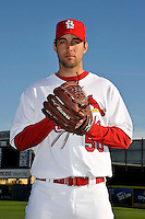 Mar 01, 2010; Jupiter, FL, USA; St. Louis Cardinals pitcher Adam Wainwright (50) during  photoday at Roger Dean Stadium. Mandatory Credit: Tomasso De Rosa/ Four Seam Images