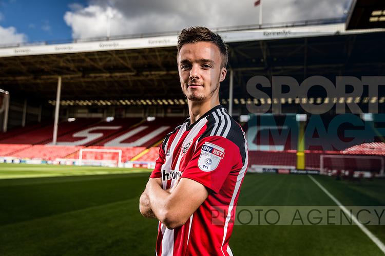 Stefan Scougall of Sheffield Utd