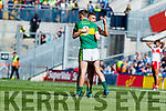 Diarmuid O'Connor Kerry players celebrate after defeating Derry in the All-Ireland Minor Footballl Final in Croke Park on Sunday.