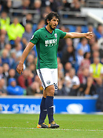 West Bromwich Albion's Ahmed Hegazy<br /> <br /> Brighton 3 - 1 West Bromwich<br /> <br /> Photographer David Horton/CameraSport<br /> <br /> The Premier League - Brighton and Hove Albion v West Bromwich Albion - Saturday 9th September 2017 - The Amex Stadium - Brighton<br /> <br /> World Copyright &copy; 2017 CameraSport. All rights reserved. 43 Linden Ave. Countesthorpe. Leicester. England. LE8 5PG - Tel: +44 (0) 116 277 4147 - admin@camerasport.com - www.camerasport.com
