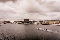 Operaen, Skuespilhuset, Amager Bakke, Amalienborg og havnen set fra drone.<br />  Foto: Jens Panduro