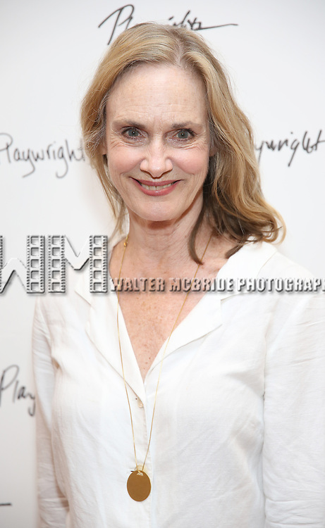 Lisa Emery attends the meet & Greet for Playwrights Horizons New York Premiere pf 'For Peter Pan on her 70th Birthday' on July 25, 2017 at the Playwrights Horizons Studios at  in New York City.