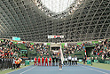 Opening Ceremony, FEBRUARY 10, 2012 - Tennis : Davis Cup 2012, World Group First Round, Opening Ceremony at Bourbon Beansdome, Hyogo, Japan. (Photo by Akihiro Sugimoto/AFLO SPORT) [1080]