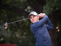 Joakim Lagergreen (SWE) in action on the 3rd hole during the third round of the 76 Open D'Italia, Olgiata Golf Club, Rome, Rome, Italy. 12/10/19.<br /> Picture Stefano Di Maria / Golffile.ie<br /> <br /> All photo usage must carry mandatory copyright credit (© Golffile | Stefano Di Maria)