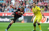 FUSSBALL   1. BUNDESLIGA   SAISON 2011/2012    4. SPIELTAG Bayer 04 Leverkusen - Borussia Dortmund              27.08.2011 Stefan KIESSLING (li, Leverkusen) gegen Neven SUBOTIC (re, Dortmund)