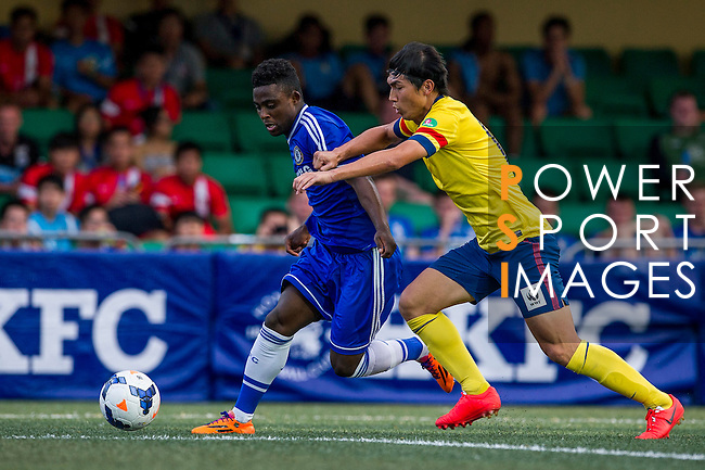 Chelsea vs Kitchee during the Day 2 of the HKFC Citibank Soccer Sevens 2014 on May 24, 2014 at the Hong Kong Football Club in Hong Kong, China. Photo by Victor Fraile / Power Sport Images