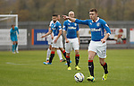 Lewis Macleod in action for Rangers