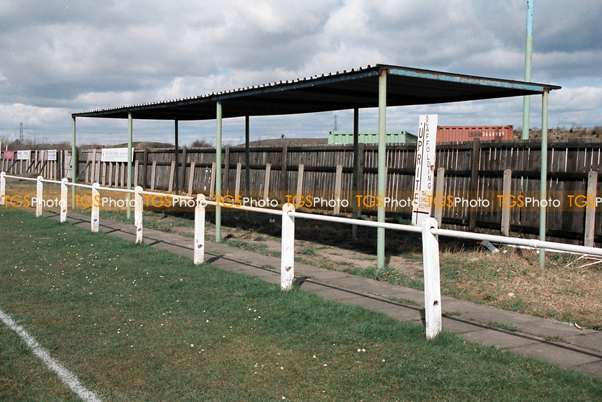 General view of Boldon Colliery Association FC Football Ground, Boldon Colliery, South Tyneside, pictured on 2nd April 1994