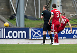 St Johnstone v Aberdeen&hellip;15.09.18&hellip;   McDiarmid Park     SPFL<br />Niall McGinn equalizes for Aberdeen<br />Picture by Graeme Hart. <br />Copyright Perthshire Picture Agency<br />Tel: 01738 623350  Mobile: 07990 594431